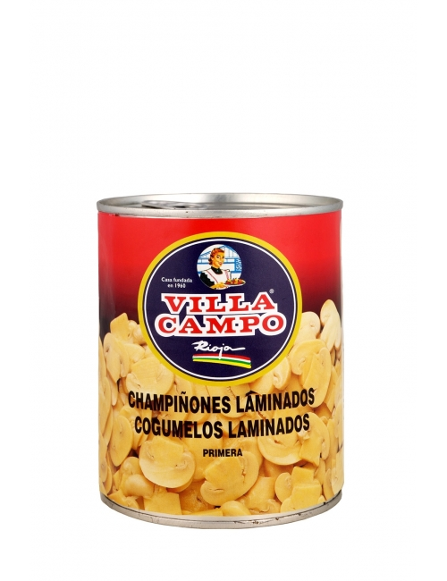 "Champiñón Laminado Primera 1kg Lata ""F.A"""