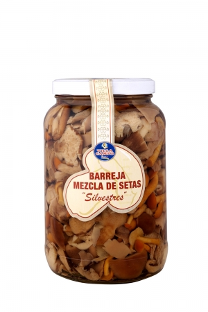 Mixed Mushrooms in Jar 1700ml ½Galon