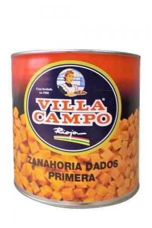 Zanahoria Cubos Primera 3kg Lata