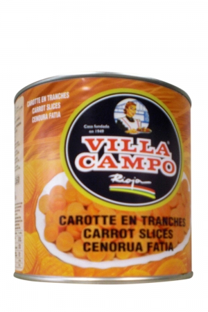 Zanahoria en rodaja Lata 3 KG