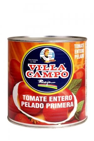 Tomate al natural pelado Primera 3KG Lata 5/6ºBrix