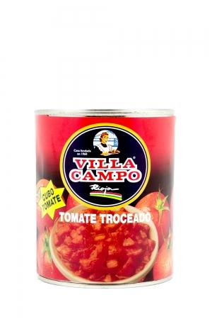 Tomate troceado-cubos Primera 1 KG