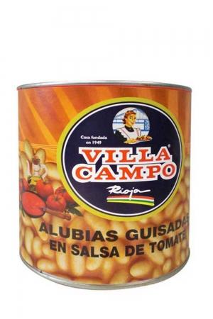 Alubias Cocidas con Tomate 3KG