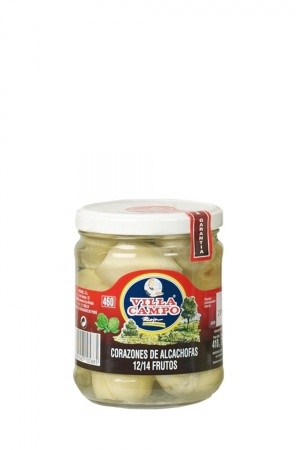 Alcachofa tarro 460 ml 10-14 frutos
