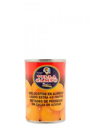 Melocotón en Almíbar ligero extra 4-6F 420g