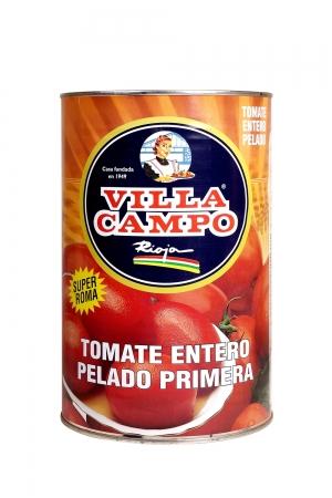 Tomate al natural pelado Primera 5KG Lata 5/6ºBrix
