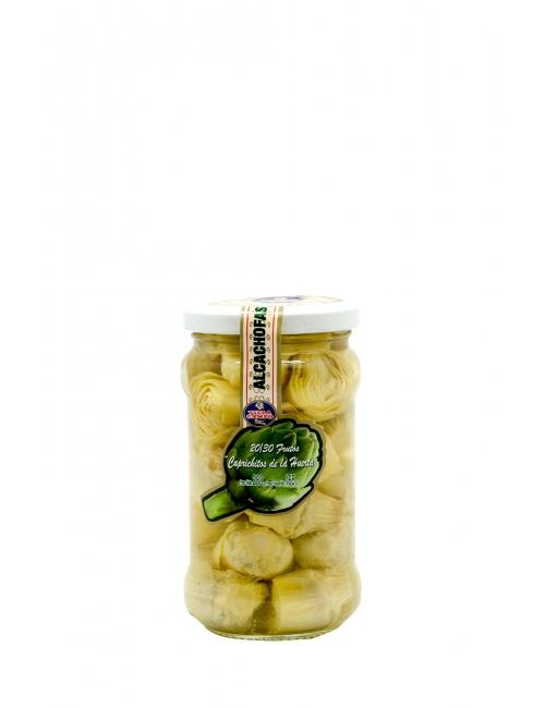 Tarro alcachofa 314 ml 20-30 frutos