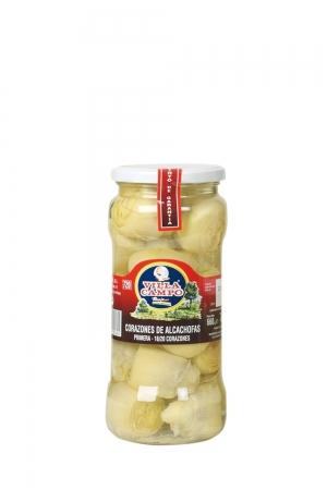 Alcachofa tarro V720 ml 12-16 frutos
