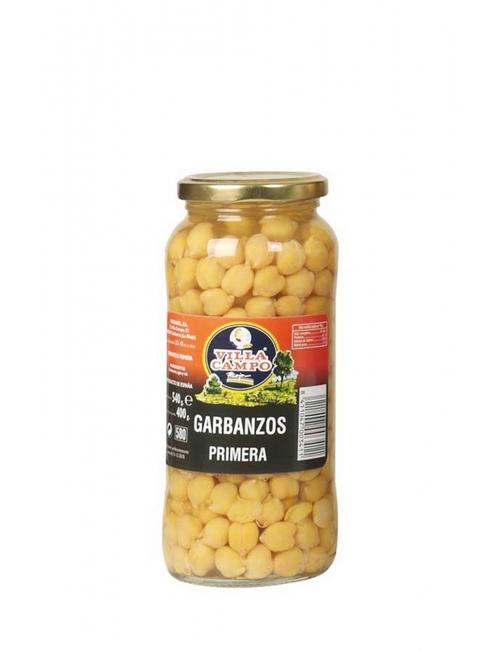 Garbanzos Tarro Primera 580ML