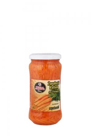 Zanahoria rallada primera tarro 370ml