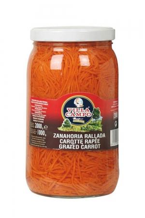 Zanahoria rallada primera tarro ½galón