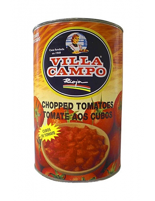 Tomate troceado-cubos Primera 5KG Lata