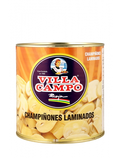 Champiñón Laminado Primera 3kg Lata