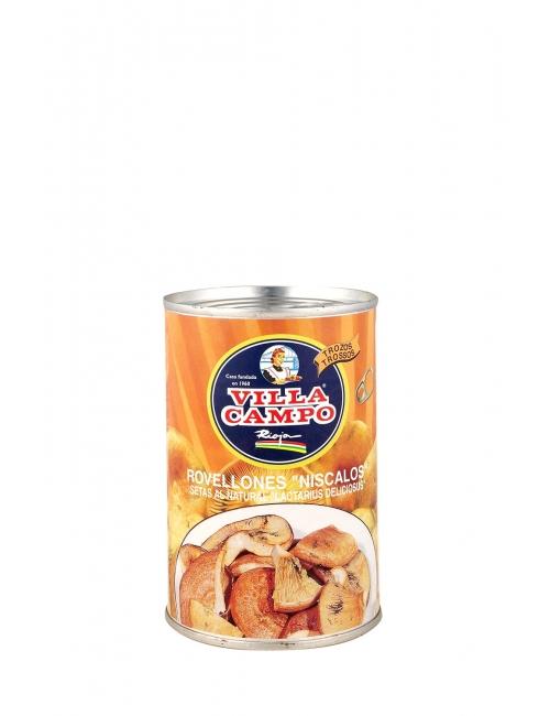 """Chunk Niscalo / Rovellon (Lactarius Deliciosus) ½kg Tin """"E.O."""""""