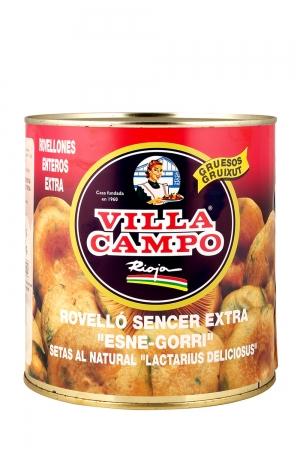 Whole Niscalo / Rovellon (Lactarius Deliciosus) 3kg Tin