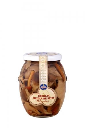 Mixed Mushrooms in Jar 580ml