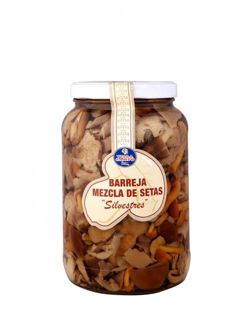 Mixed Mushrooms in Jar 1700ml ½Galon