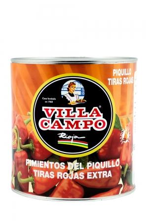 Strips Piquillo Pepper 3kg Tin