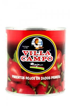 Dices Morron Pepper 3kg Tin