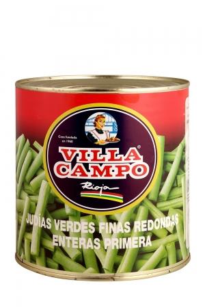 Judía Verde Redonda Fina Cortada Primera 3kg Lata