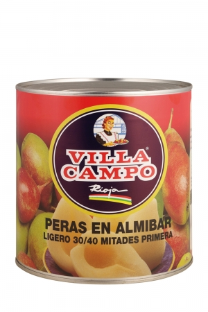 Peras en Almíbar 3KG