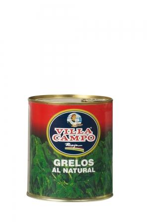 """Grelos Al Natural Primera 1kg Lata """"F.A."""""""