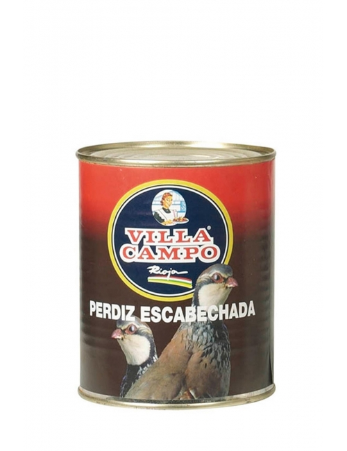 Perdiz Escabechada Lata 1KG FA
