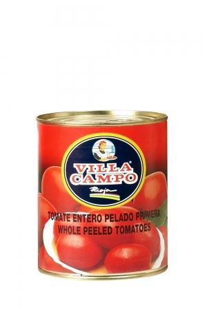 """Peeled Tomato 1kg Tin """"E.O."""" 5/6ºBrix"""