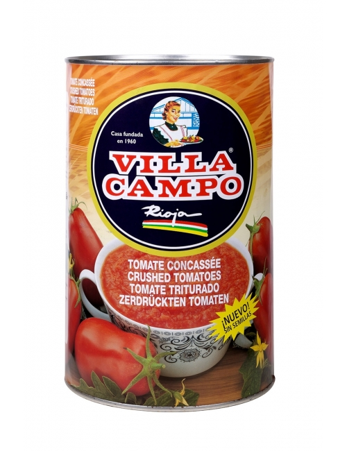 Crushed Tomato Without Seeds 5kg Tin 6/8ºBrix