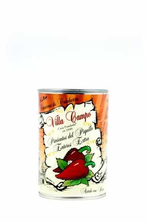 "Whole Piquillo Pepper Extra ½kg Tin ""E.O."" Count 18/22f"