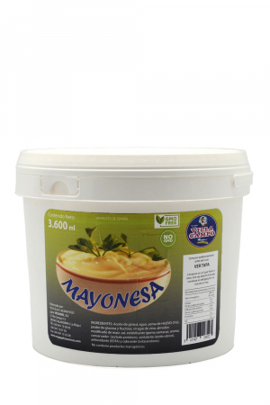 Mayonnaise in Plastic Cube 3600ml - Sunflower oil