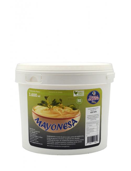 Mahonesa Cubo 3600ML - Aceite de girasol