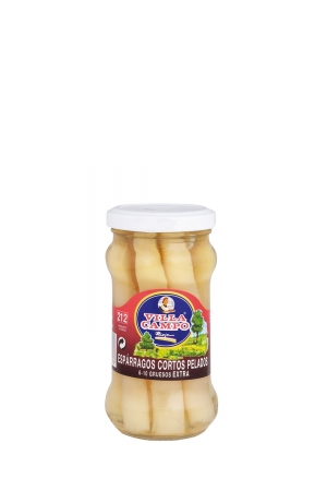 White Asparagus Extra in Jar 212ml/11cm Count 6/9f