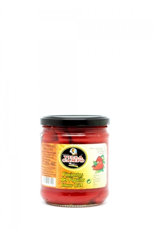 Whole Piquillo Pepper in Jar 460ml Count 16/24f
