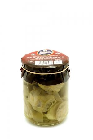 Artichoke Hearts in Olive Oil in Jar 460ml Count 8/12f