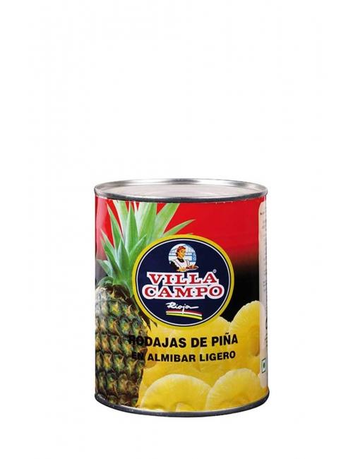 Piña en Almíbar Ligero 1KG