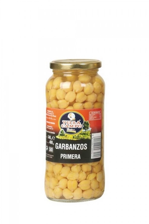 Chickpeas Cooked in Jar 580ml