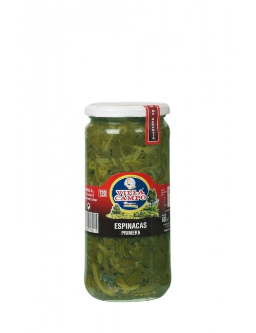 Espinacas tarro V720 ml