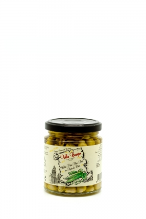 Broad Beans Minibaby in Olive Oil in Jar 250ml 7/12mm