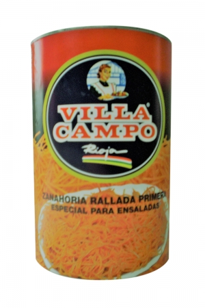 Grated Carrot 5kg Tin
