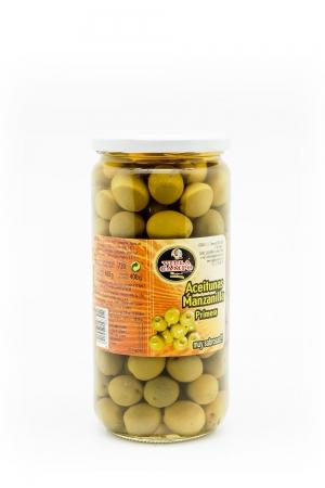 Aceitunas Manzanilla con hueso Primera Tarro V/720ml Calibre 180-200